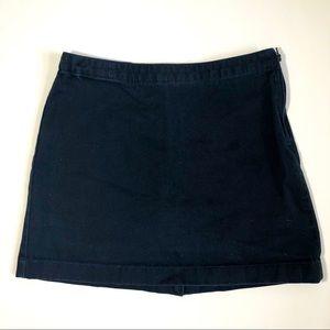 Lands' End Girls Uniform Navy Blue Skort